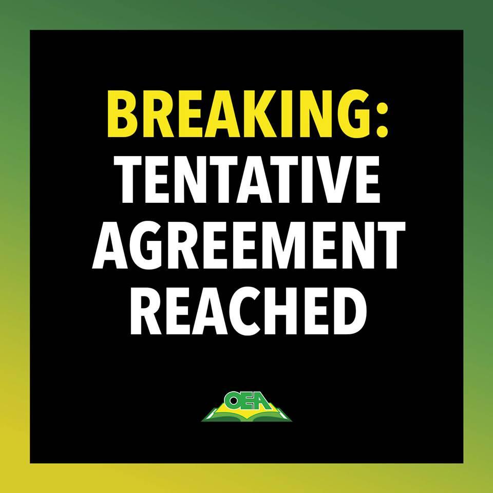 Oakland REACHES TENTATIVE AGREEMENT - Get all California Educator News here!
