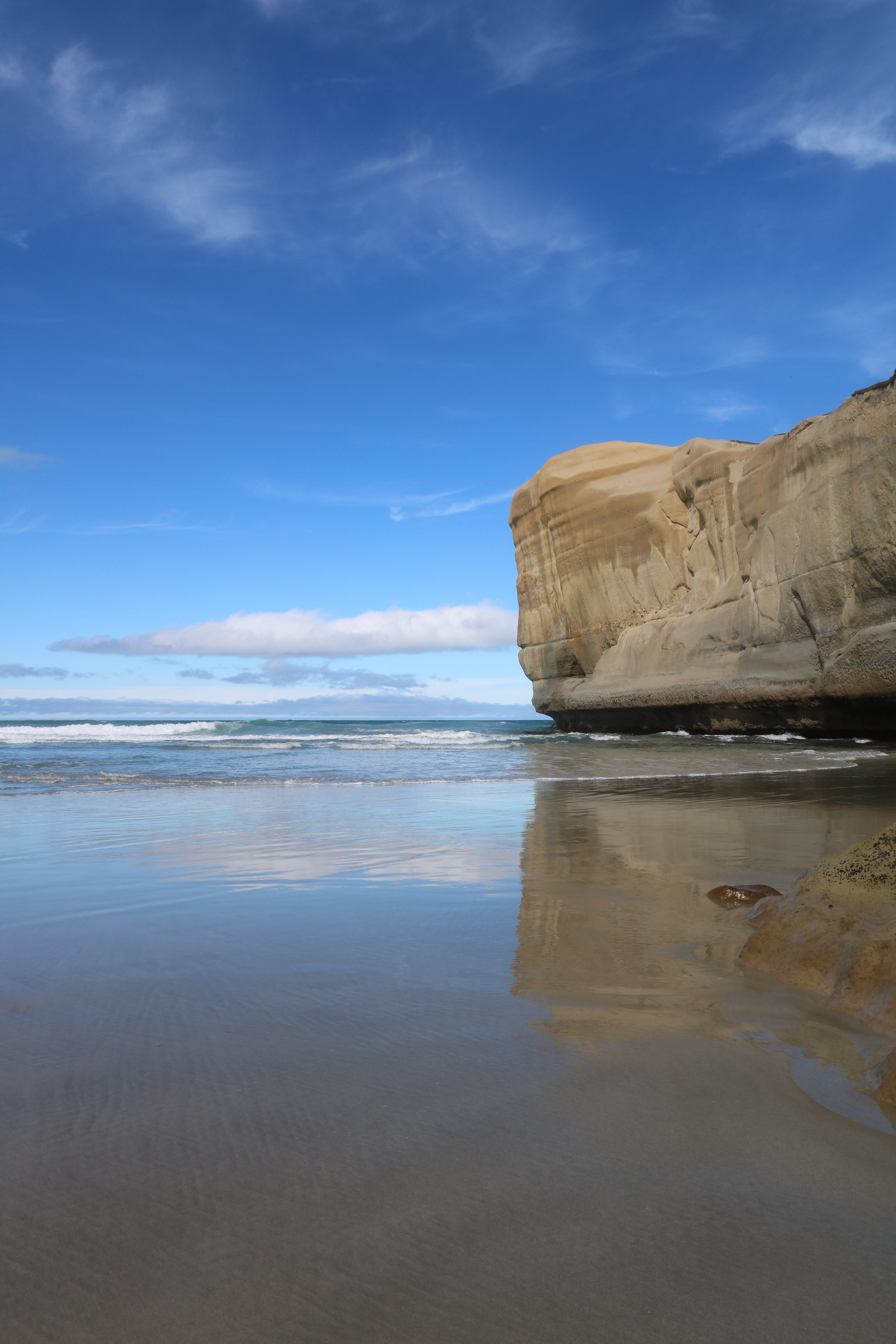 Tunnel Beach, Dunedin, New Zealand