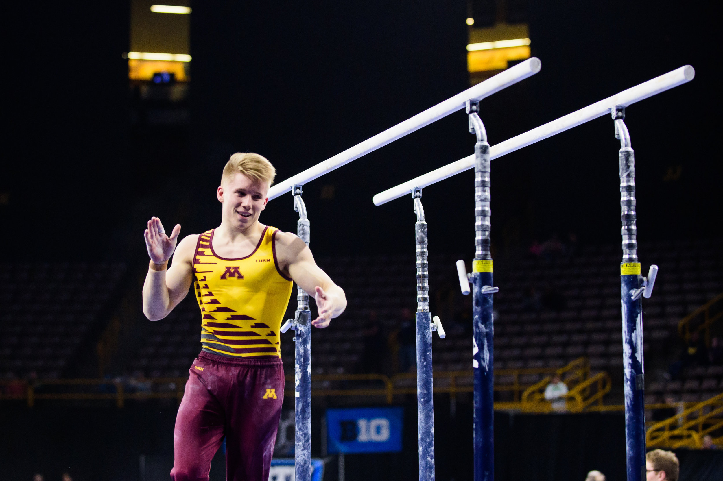 How far can Shane Wiskus take this Minnesota team? (photo: Jess Frankl)