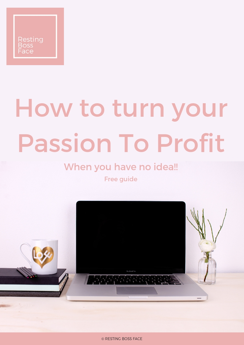 How to turn your Passion To Profit freebie.jpg