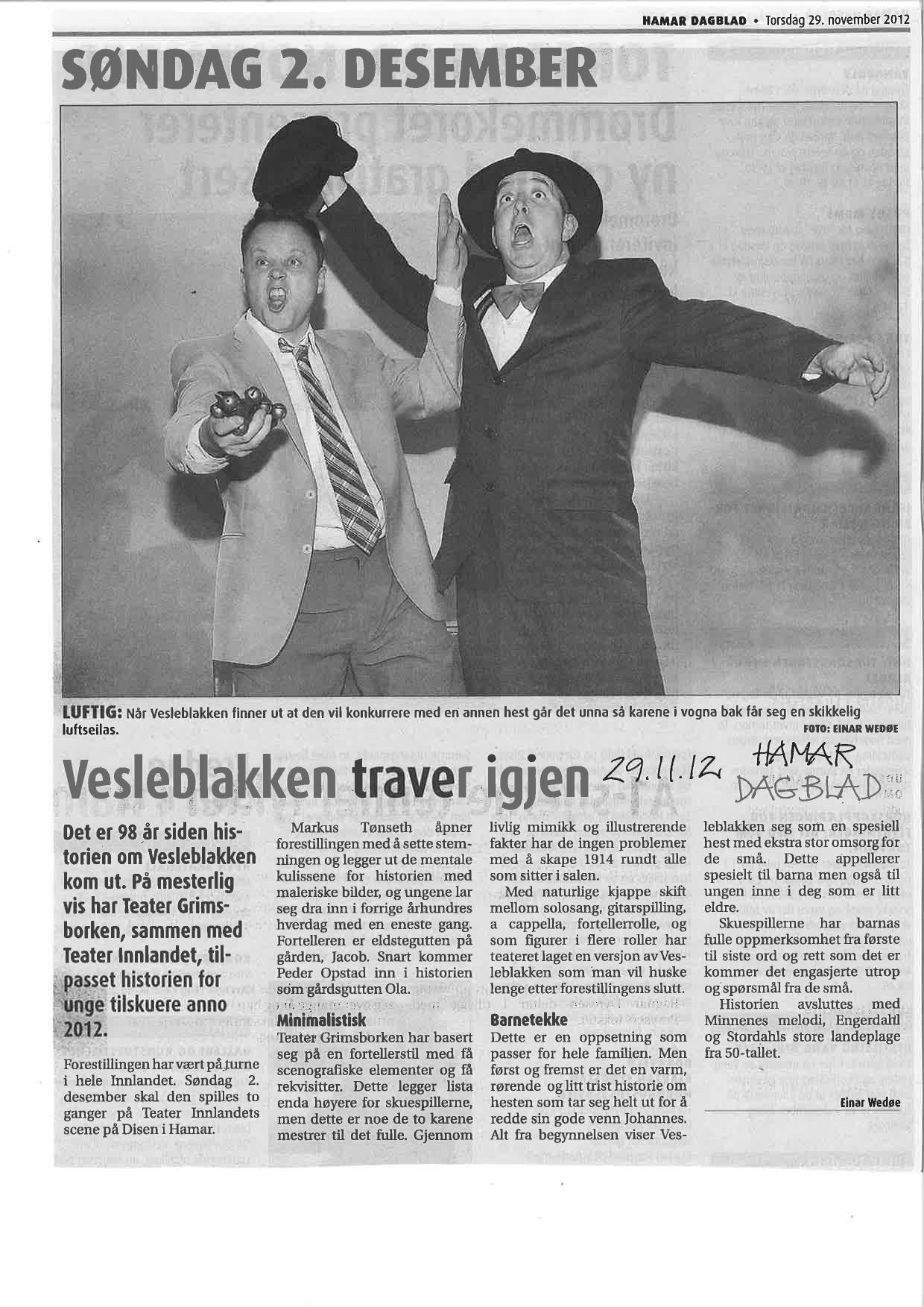Nov 29 2012 Hamar Dagblad.jpg