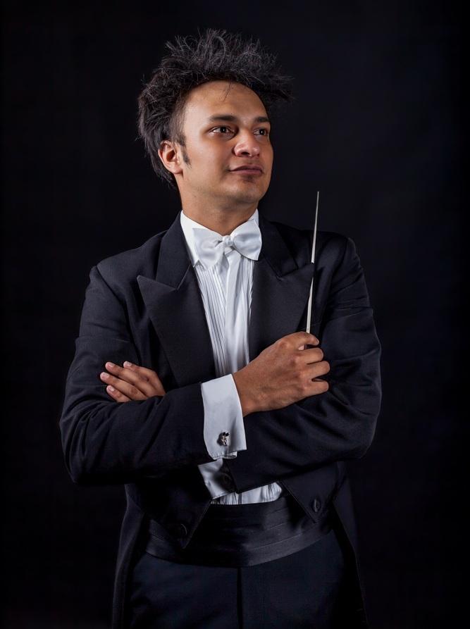 MetSO Music Director Christopher Dragon