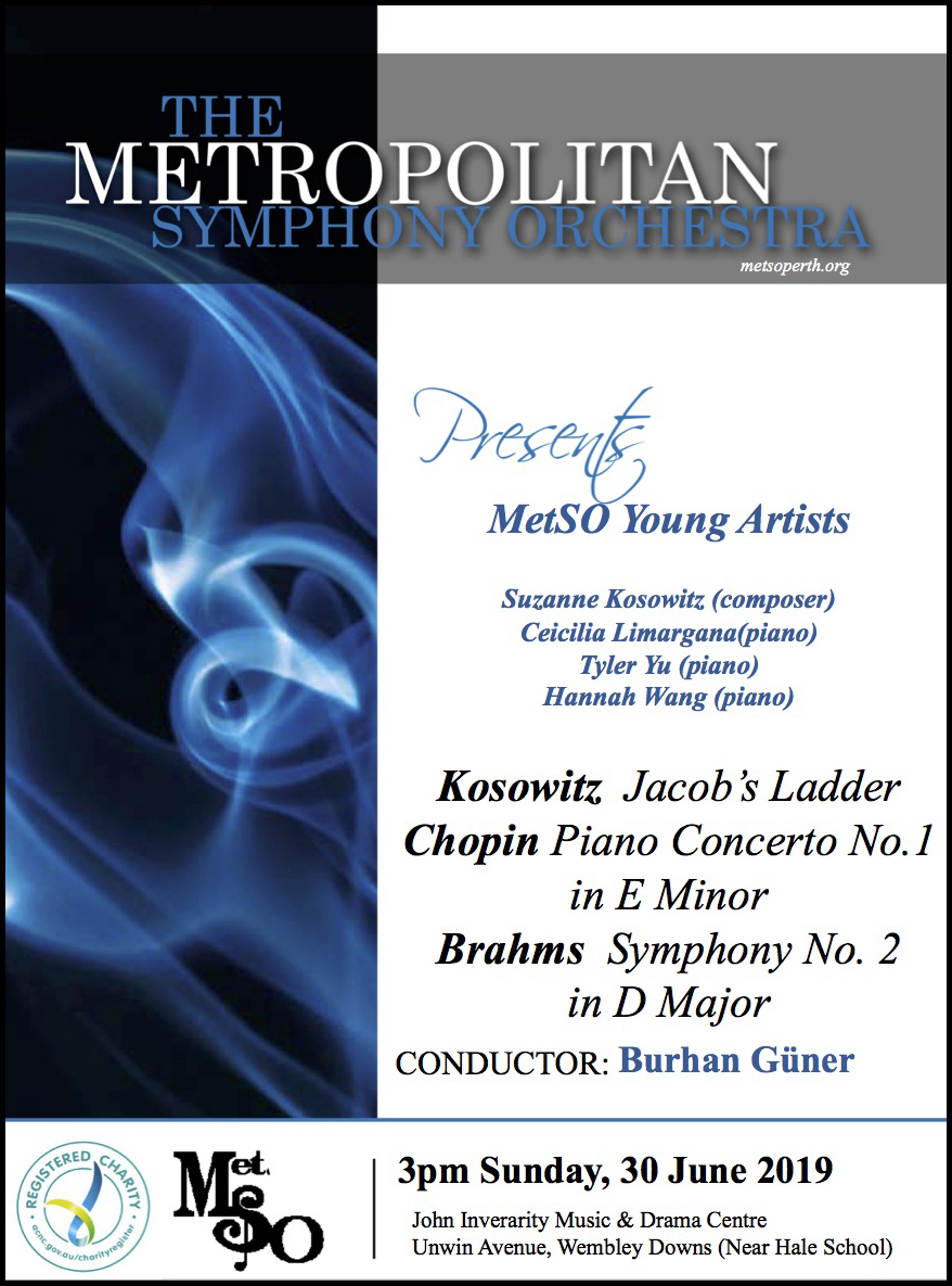 MetSO 2019 Winter Concert Flyer