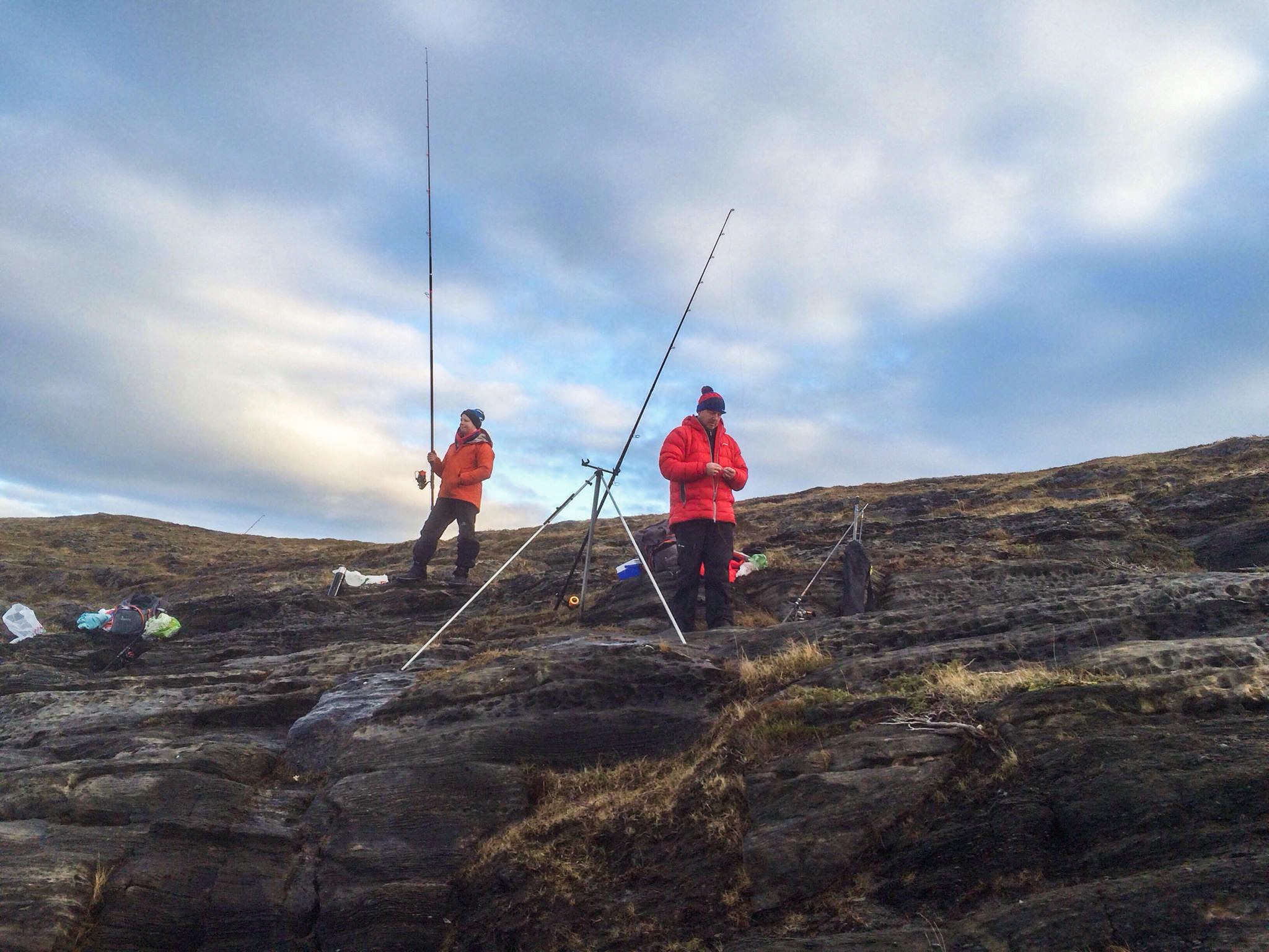 Shorefishing - Vega is an excellent place for shorefishing. You can catch cod, saithe/pollock, haddock, halibut and flounder. Ask us and we'll tell you the best places to fish from.