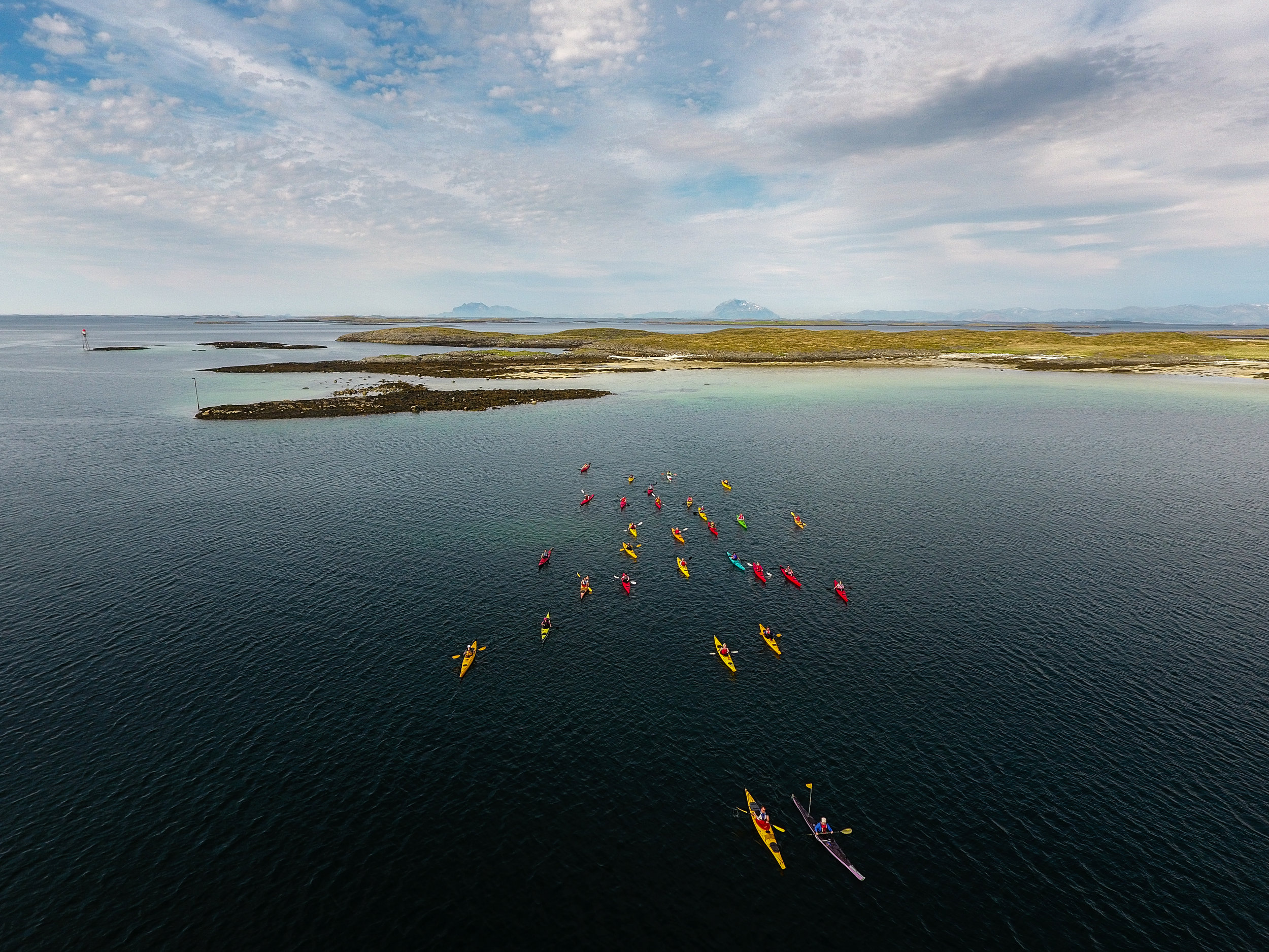 Rent a kayak - If you want to experience the archipelago on your own, kayaking is the way to go. You can rent single and double kayaks and all the equipment you need. We'll also tell you the best places to go.A single kayak is 500 NOK pr day or 2000 NOK for a week. A double kayak is 700 NOK a day or 3800 NOK a week.