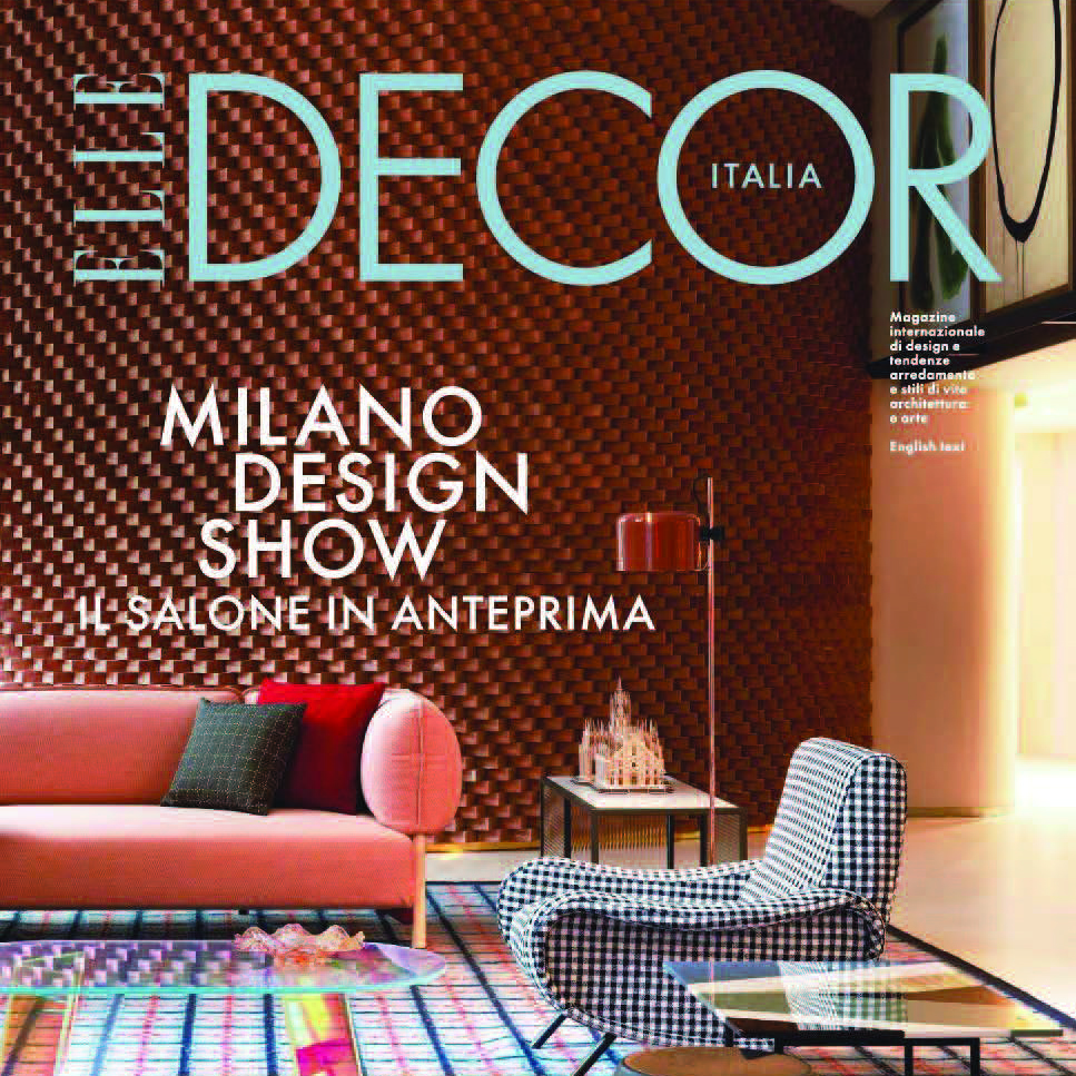 Elle DECOR Ita - April
