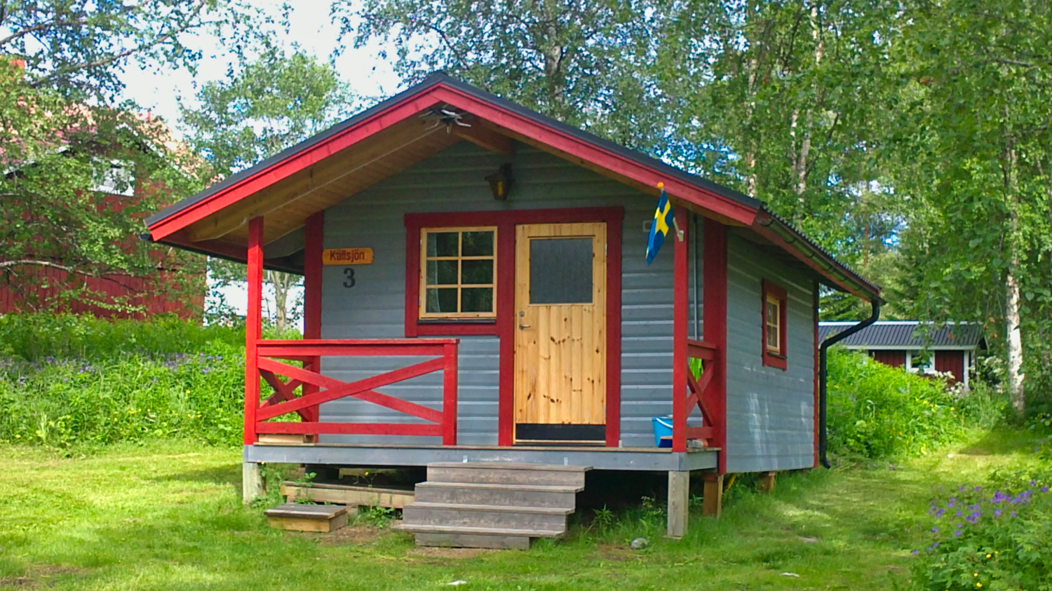 Campingstuga - Camping cottage