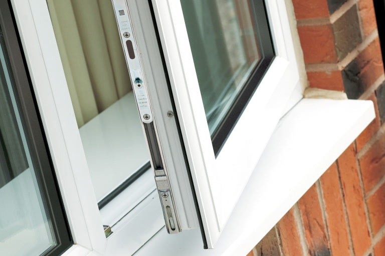 Multi point lock & internally glazed