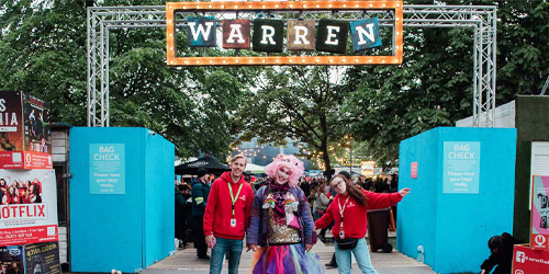 Partner with The Warren - We would love to partner with a variety of different businesses to reach our audience's very varied needs. Partner with us and gain exposure to a diverse audience, opportunities to do brand activations and much more!