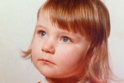 Dani aged 3