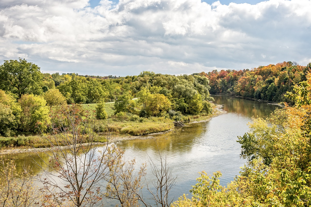 Cambridge gets its water from the Grand River watershed