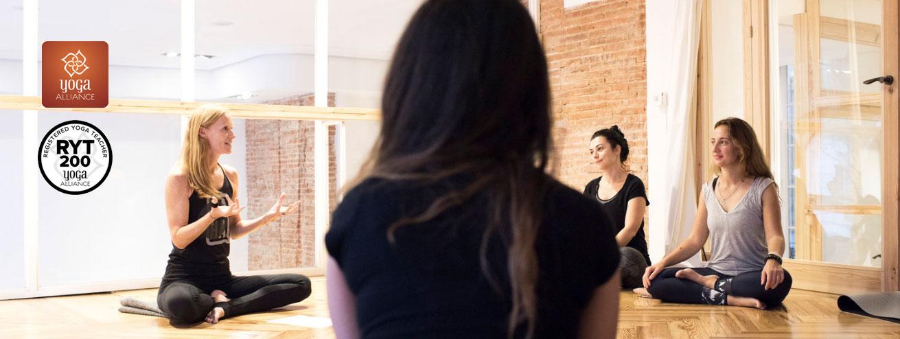 Certificación Yoga Alliance - Zentro Urban Yoga Madrid