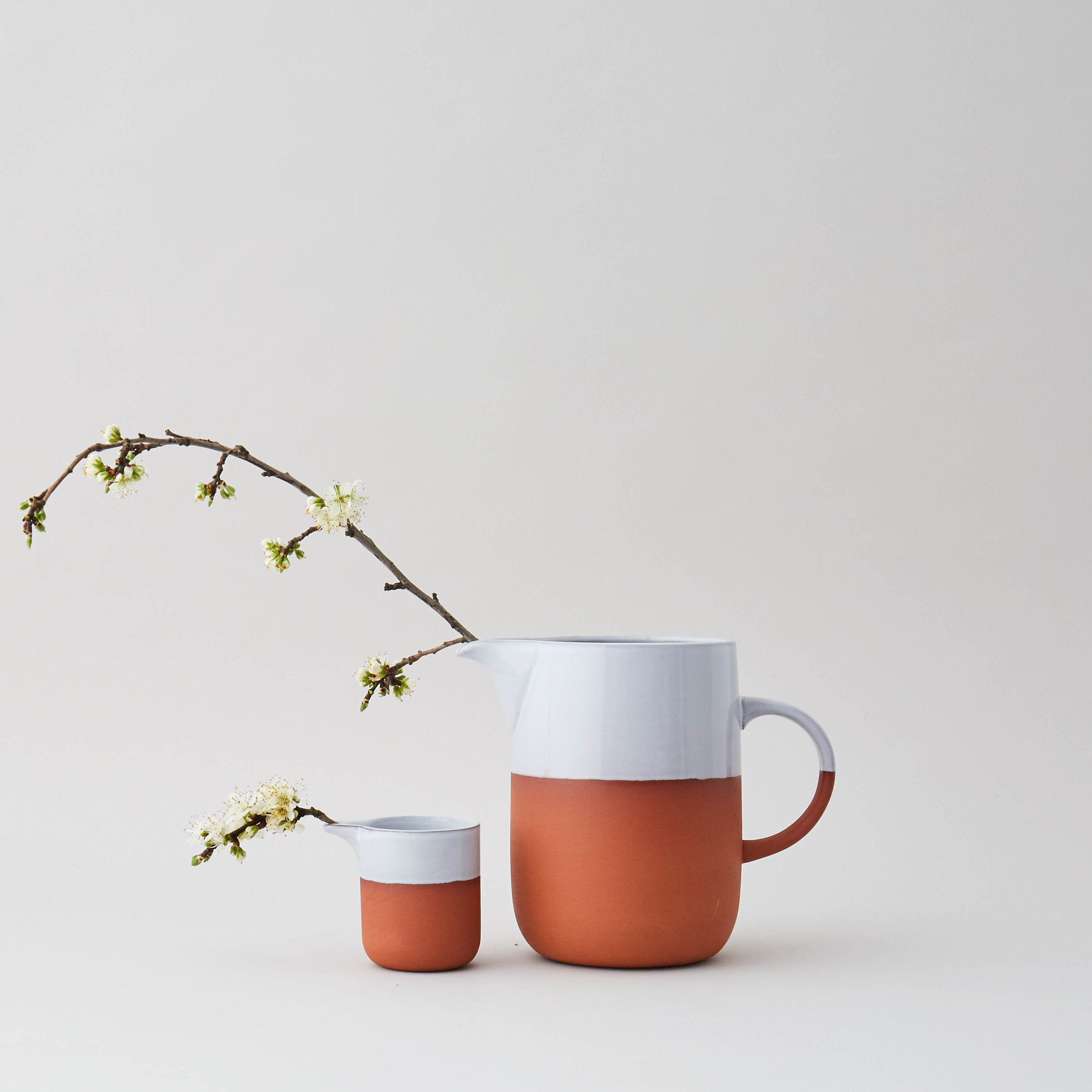 We are family: Terracotta Jug and Pourer