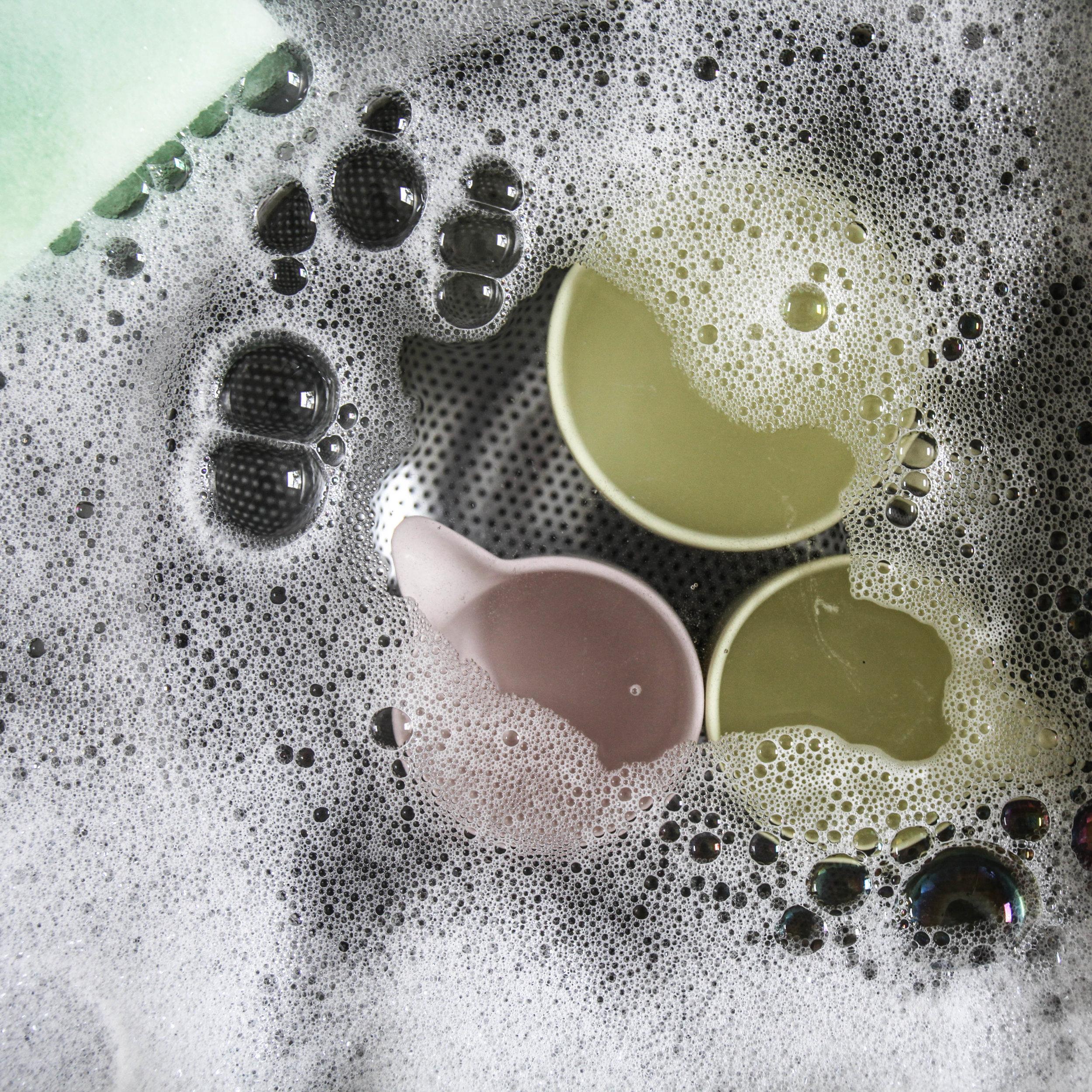 Hand wash: Sherbert Lemon and Candyfloss Pink mugs and jugs