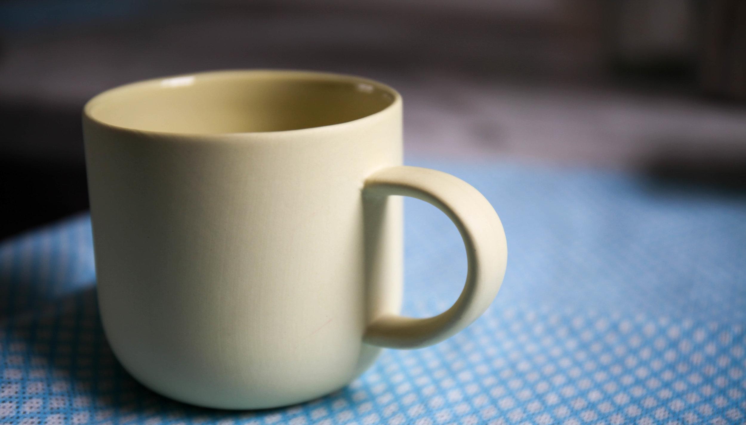Hand watch: Sherbert Lemon Mug