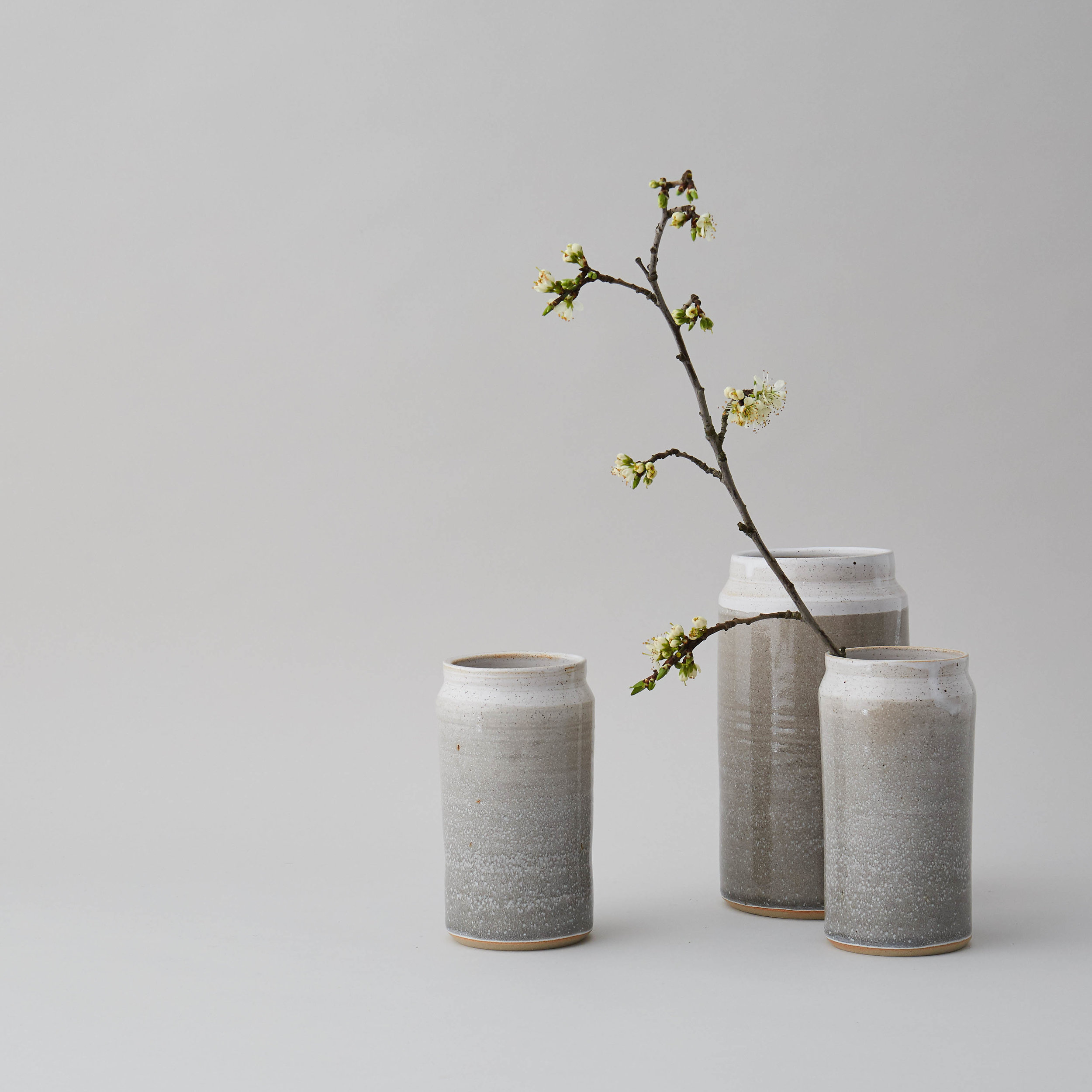 Little and Large: 'Misty Morning' Vases