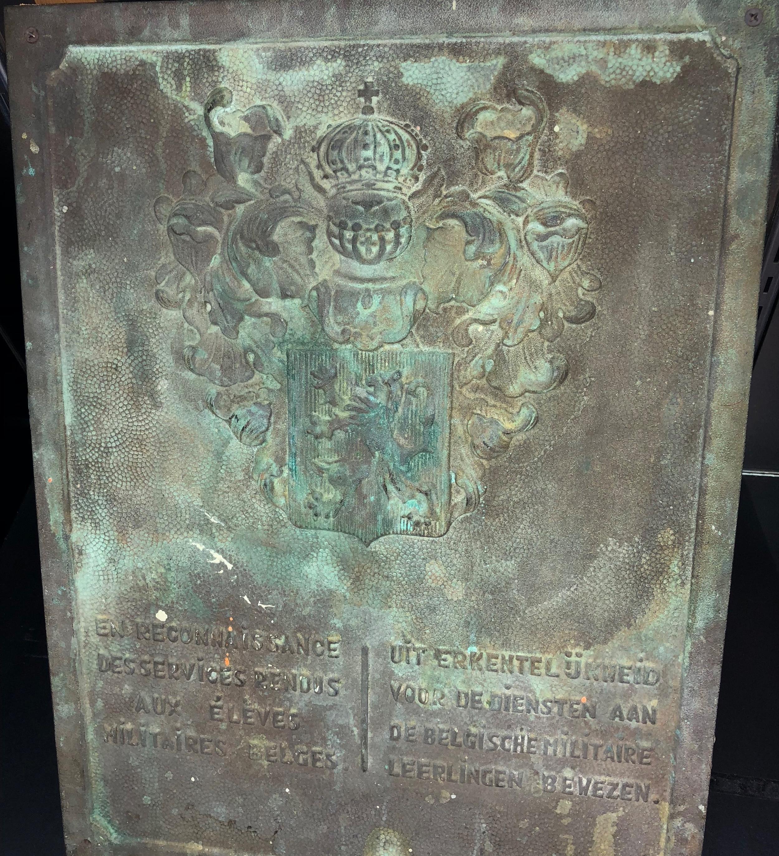 Belgian Plaque