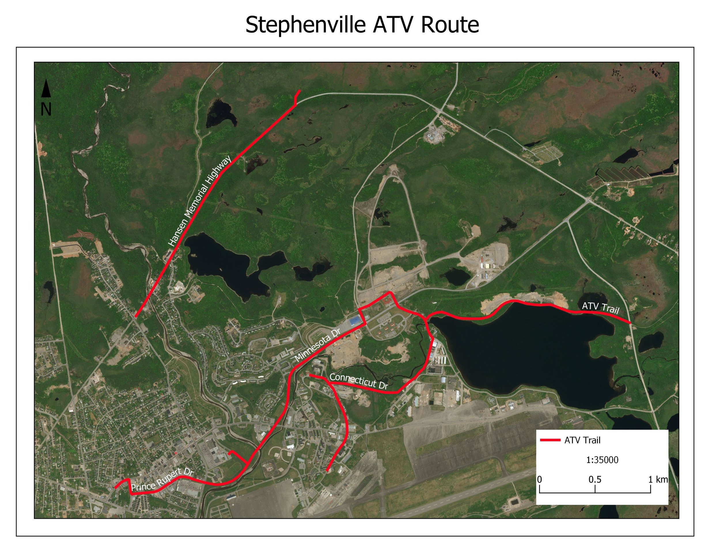 Stephenville ATV Route
