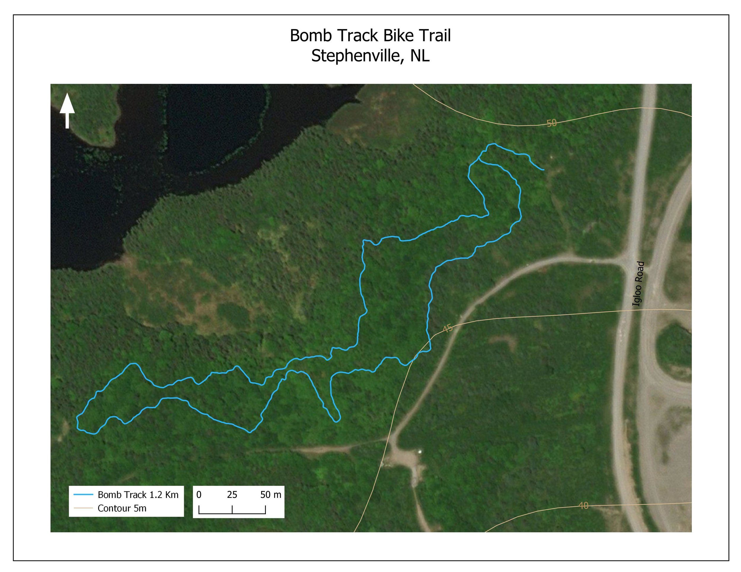 Bomb Track Biking Trail