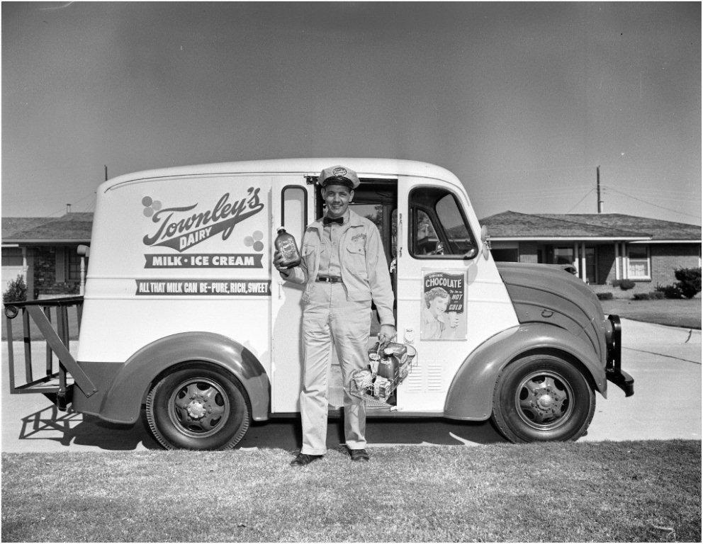 A Divco History - Trucks built by the Detroit Industrial Vehicle Company and its successors, were once as much a part of the American way of life as baseball and mom's apple pie. Chances are your milkman drove a DIVCO. So did the laundry man, the baker, and even the paper boy's route man. From 1926, until 1986, Divco produced multi-stop delivery trucks unlike any others. Only the VW Beetle stayed in production with the same basic model for a longer period of time. Today many people consider Divco as the icon for the multi-stop delivery era.