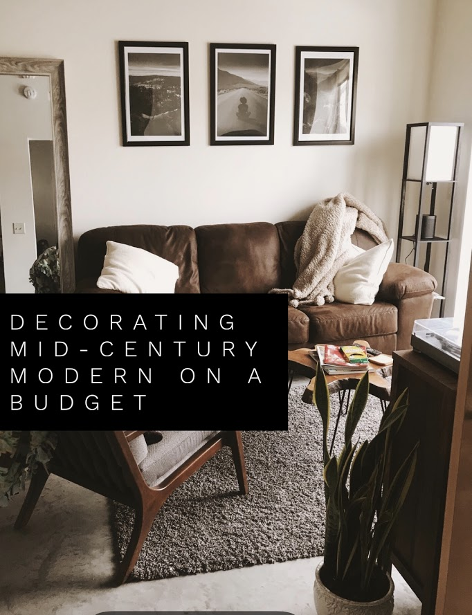 Decorating Mid Century Modern On A