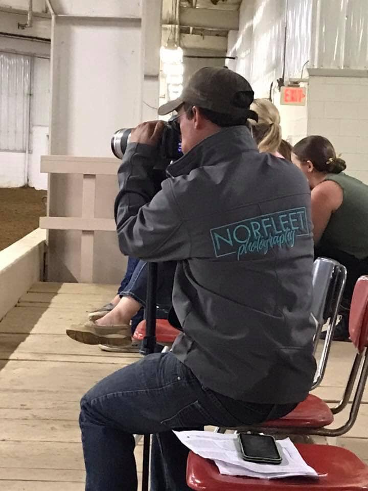 Having individuals who support your business are essential to your success. Dustin, my other half, was not a horse person or a photographer before we met. He's become both through our business.