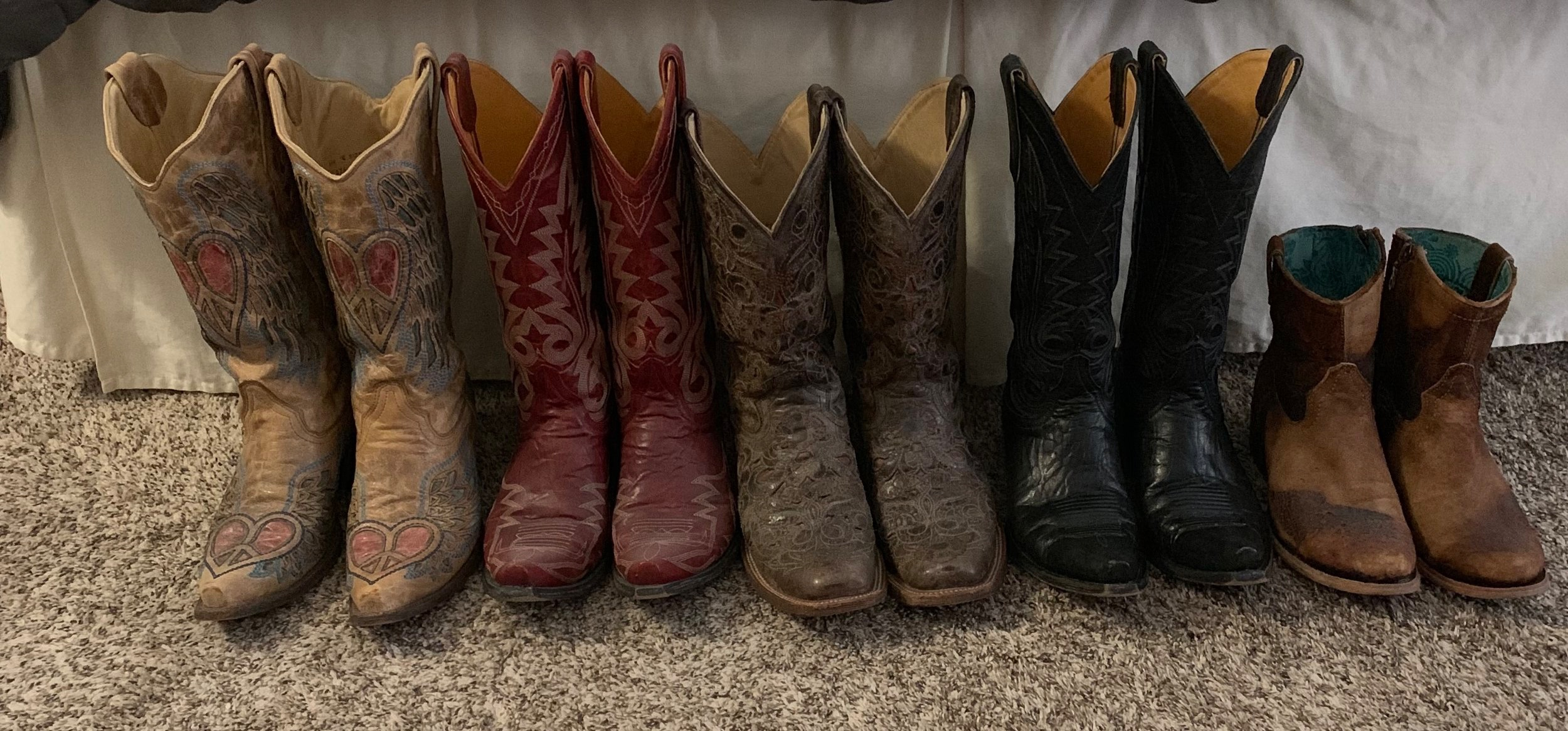Suze has already given away 3 or 4 pairs over the last few years. We think we can find room in the RV for these special friends.