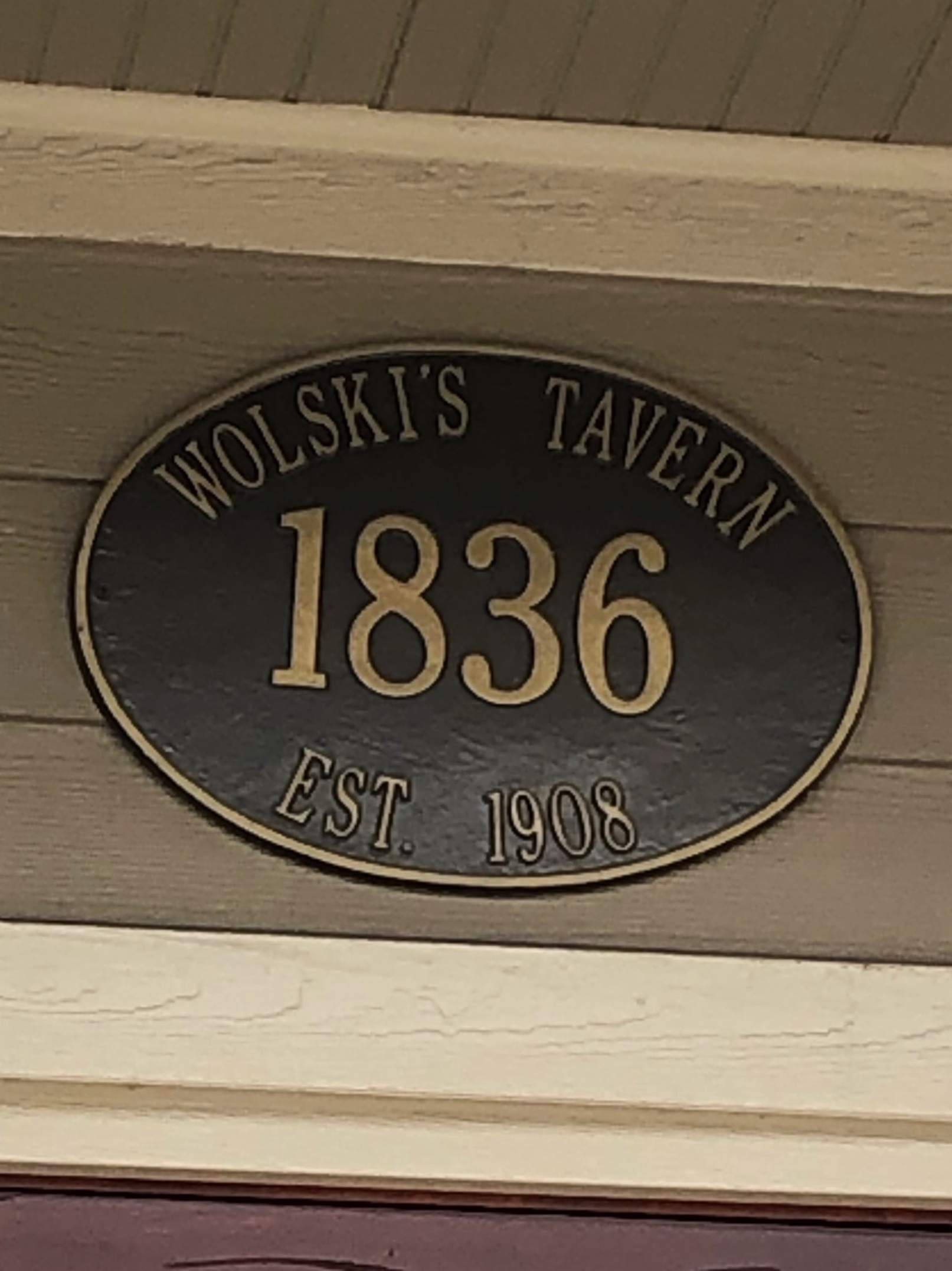 "Wolski's is a Milwaukee institution. You can find the ""I Closed Wolski's"" bumper stickers all over the world. We saw a number of them on our trip to Ireland."