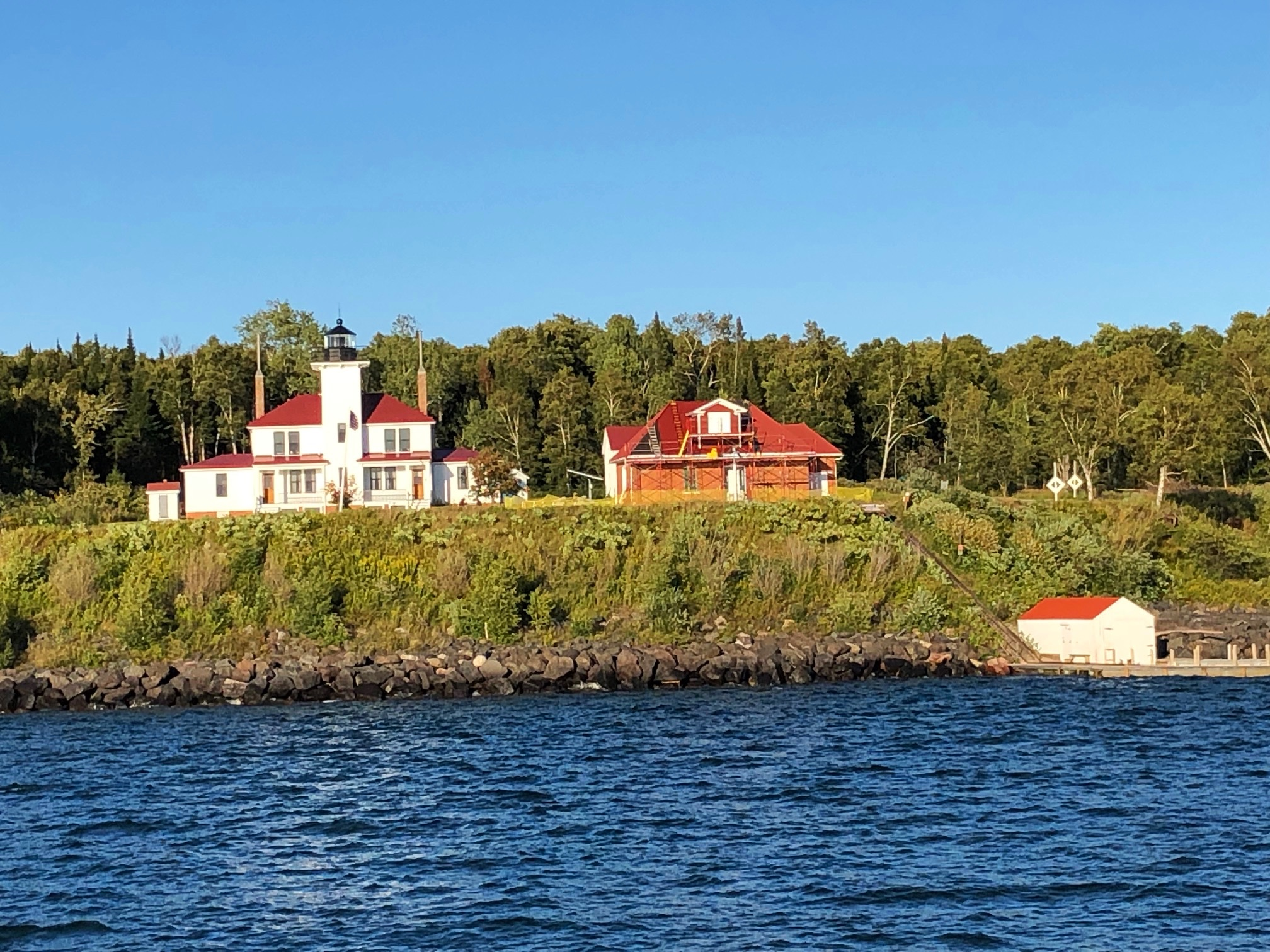 Another of the lighthouses on the Apostle Islands.