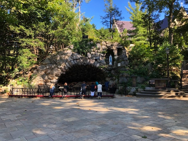 The Grotto is one place on the Notre Dame campus that hasn't changed at all over all of these years.