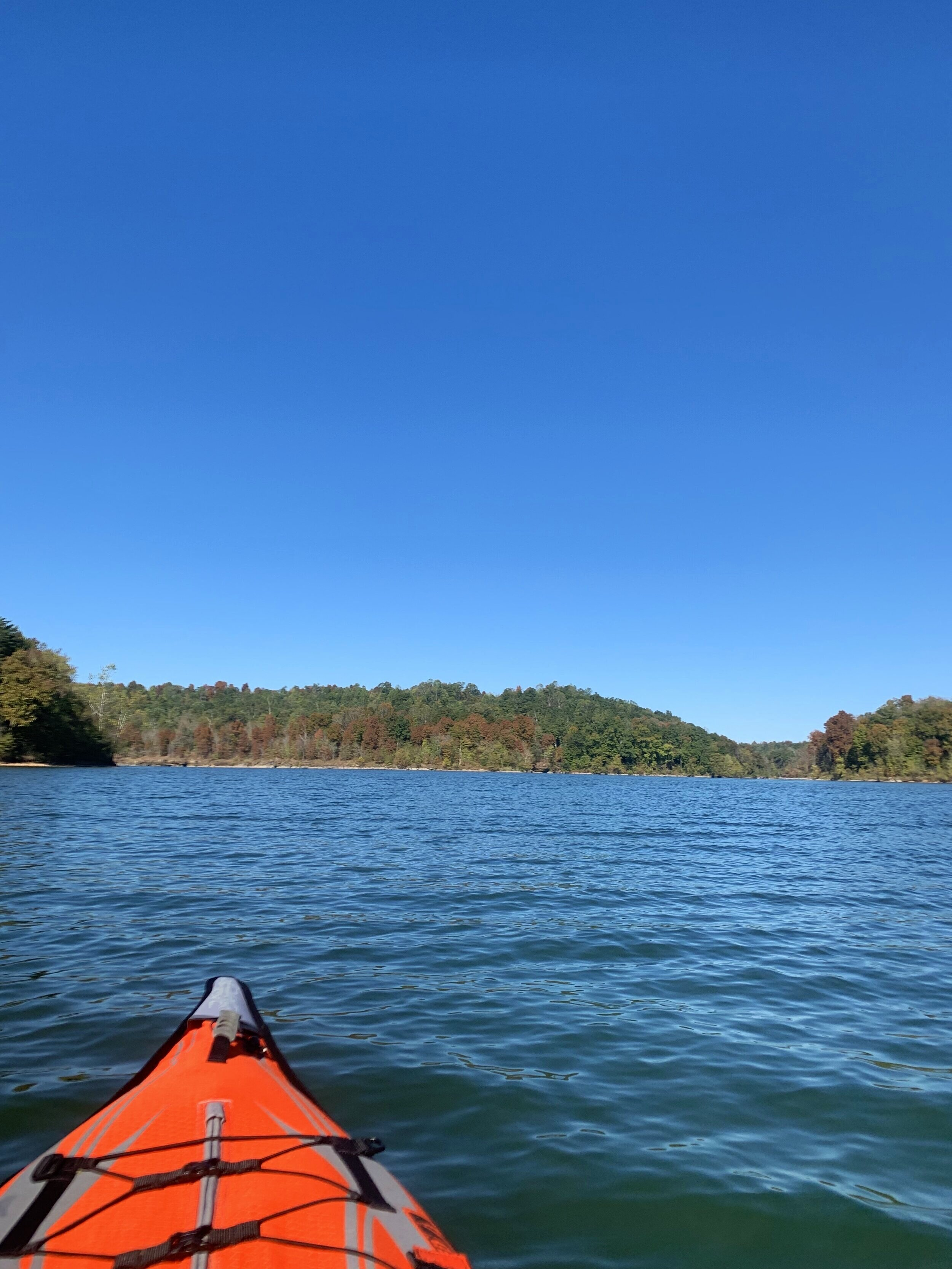 The weather was very good and we were able to get out on the kayaks on 3 different days.