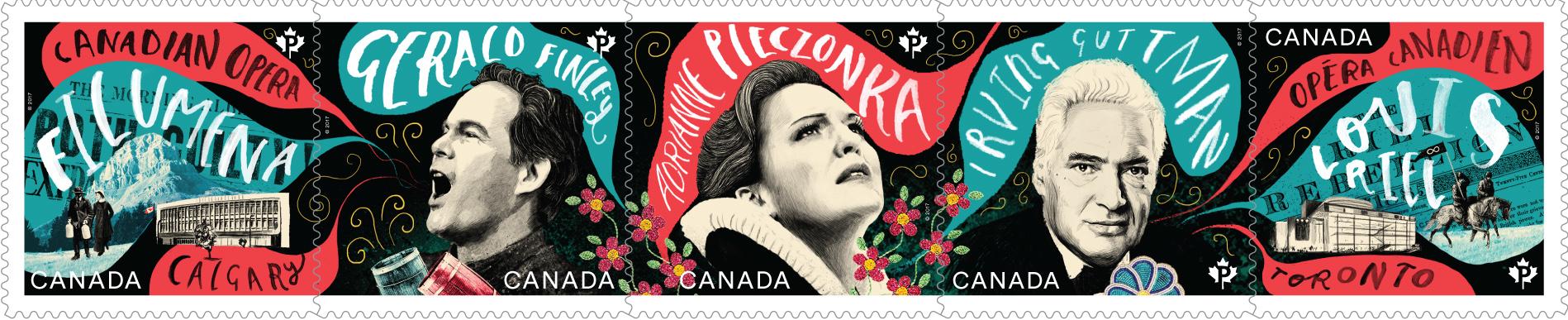 Canadian Opera: Souvenir Sheet
