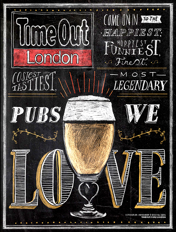 TimeOut London Pubs Cover