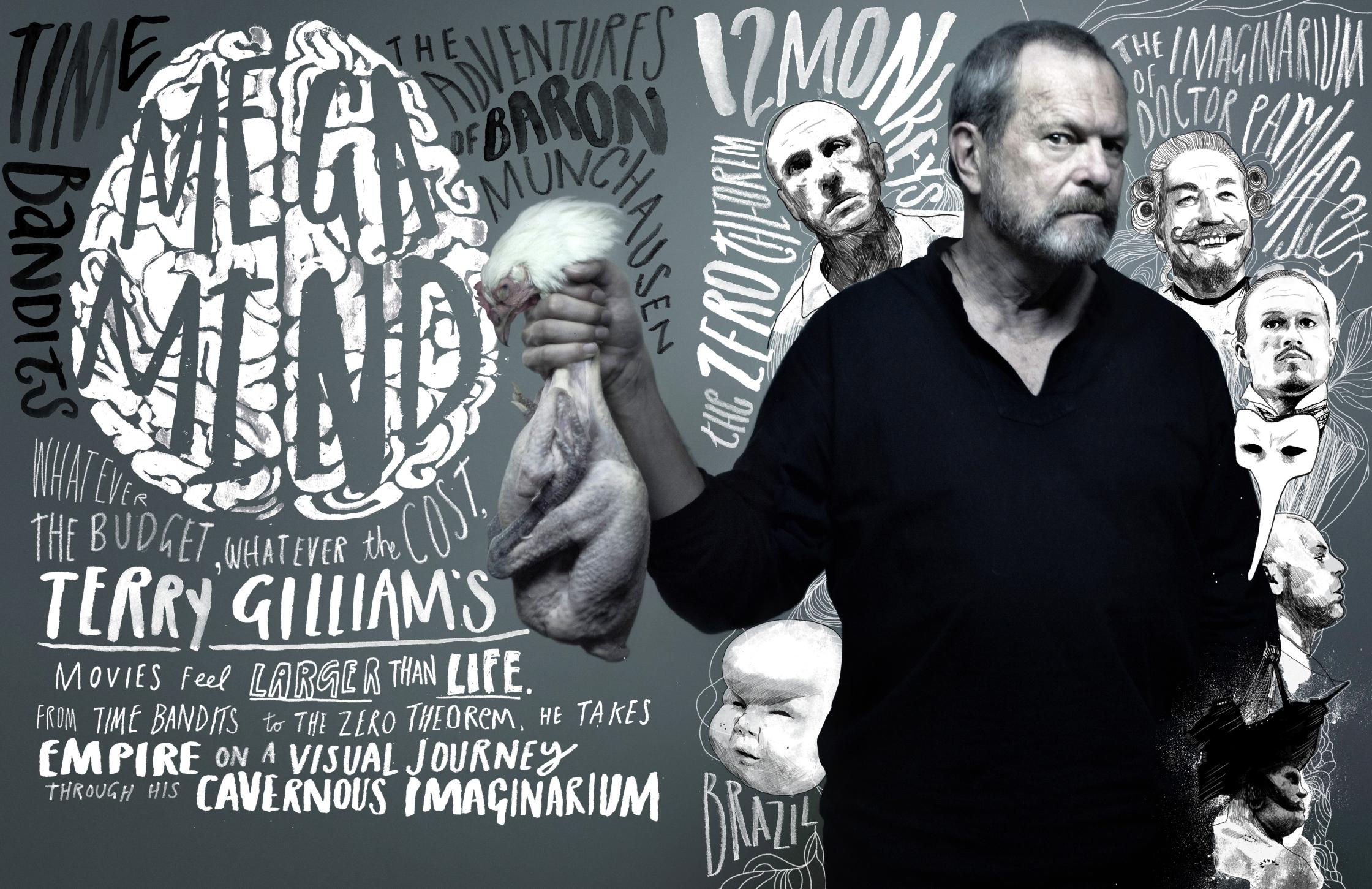 Mega Mind Terry Gilliam