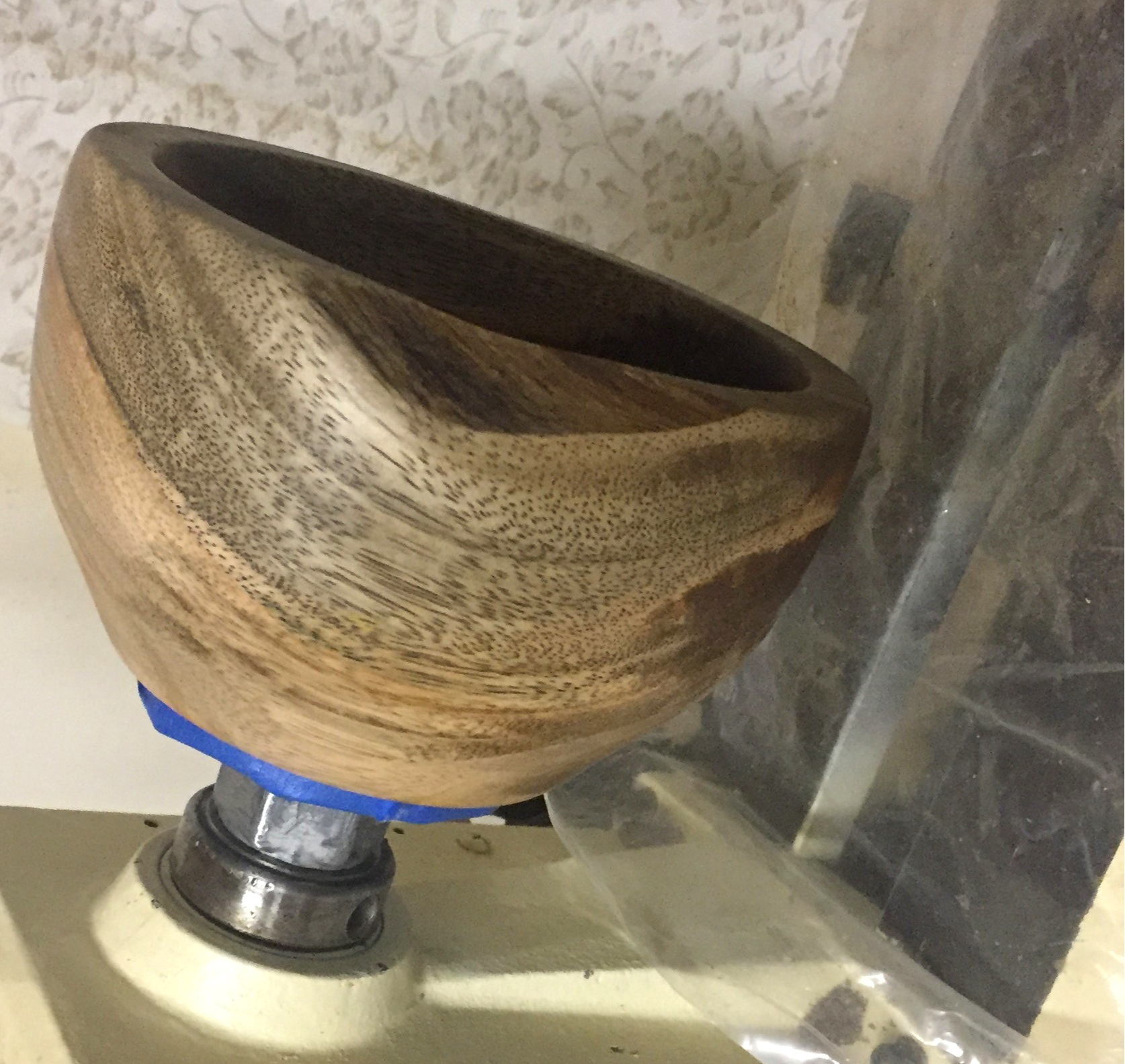 live oak on the lathe.jpg