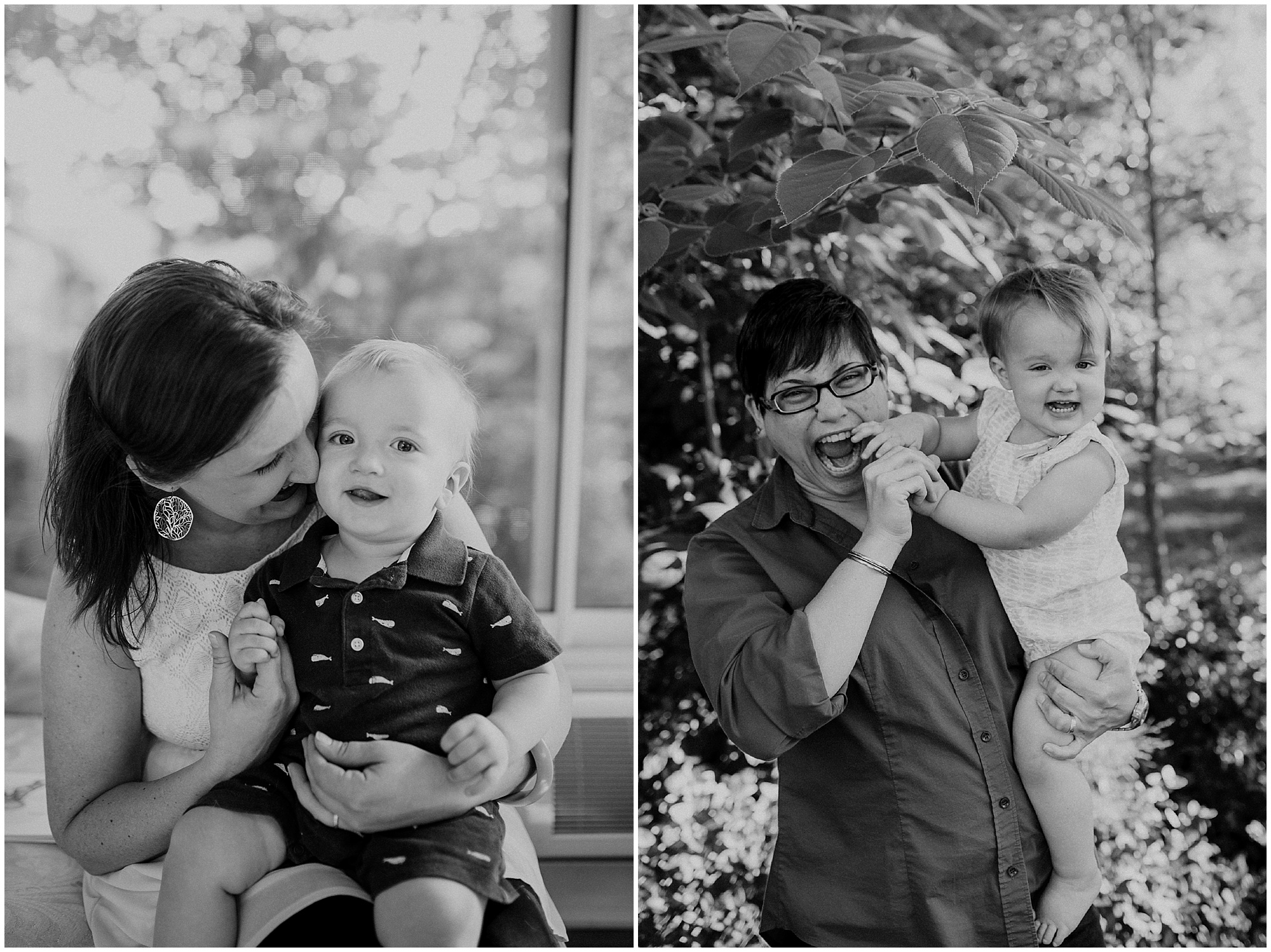Mother's Day in black and white, by Emily Lapish Photography