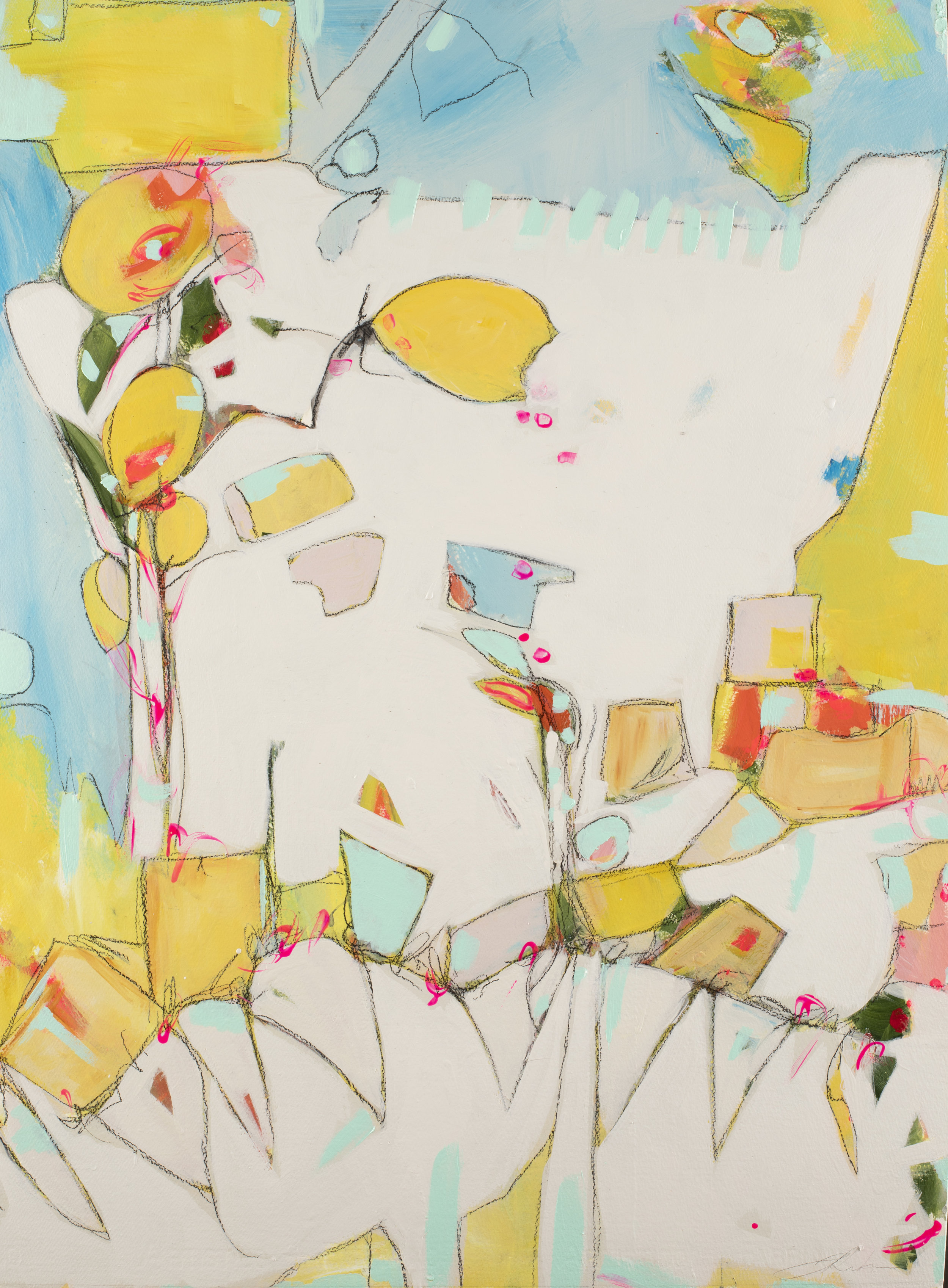 """Where I Met Prince Charming, 29"""" x 22"""", available - Miller Gallery Charleston"""