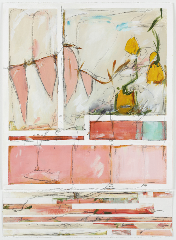 "Memory Bite, 36"" x 27"", available - Art & Light Gallery"