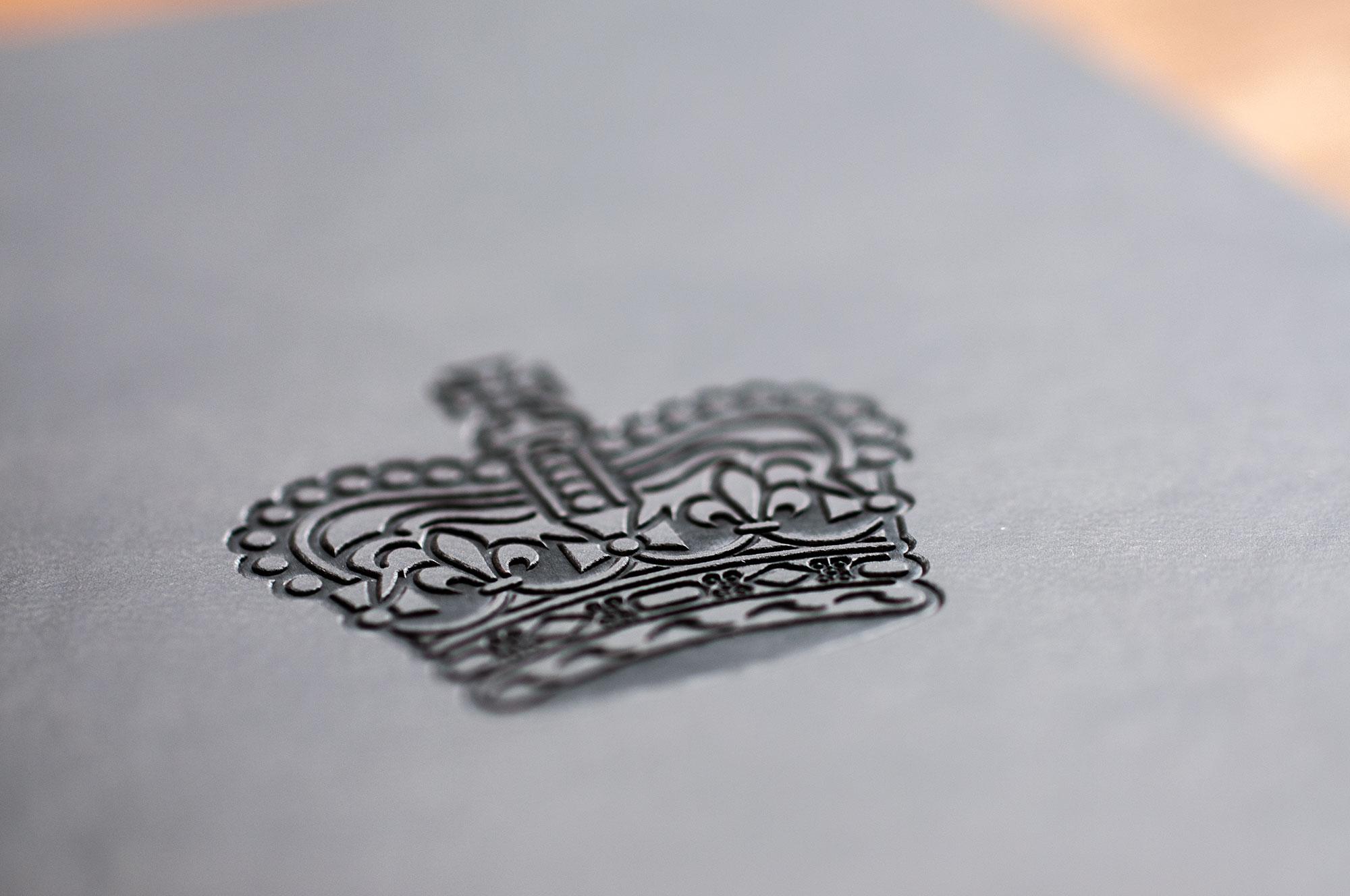 Embossed notebooks - amazing detail