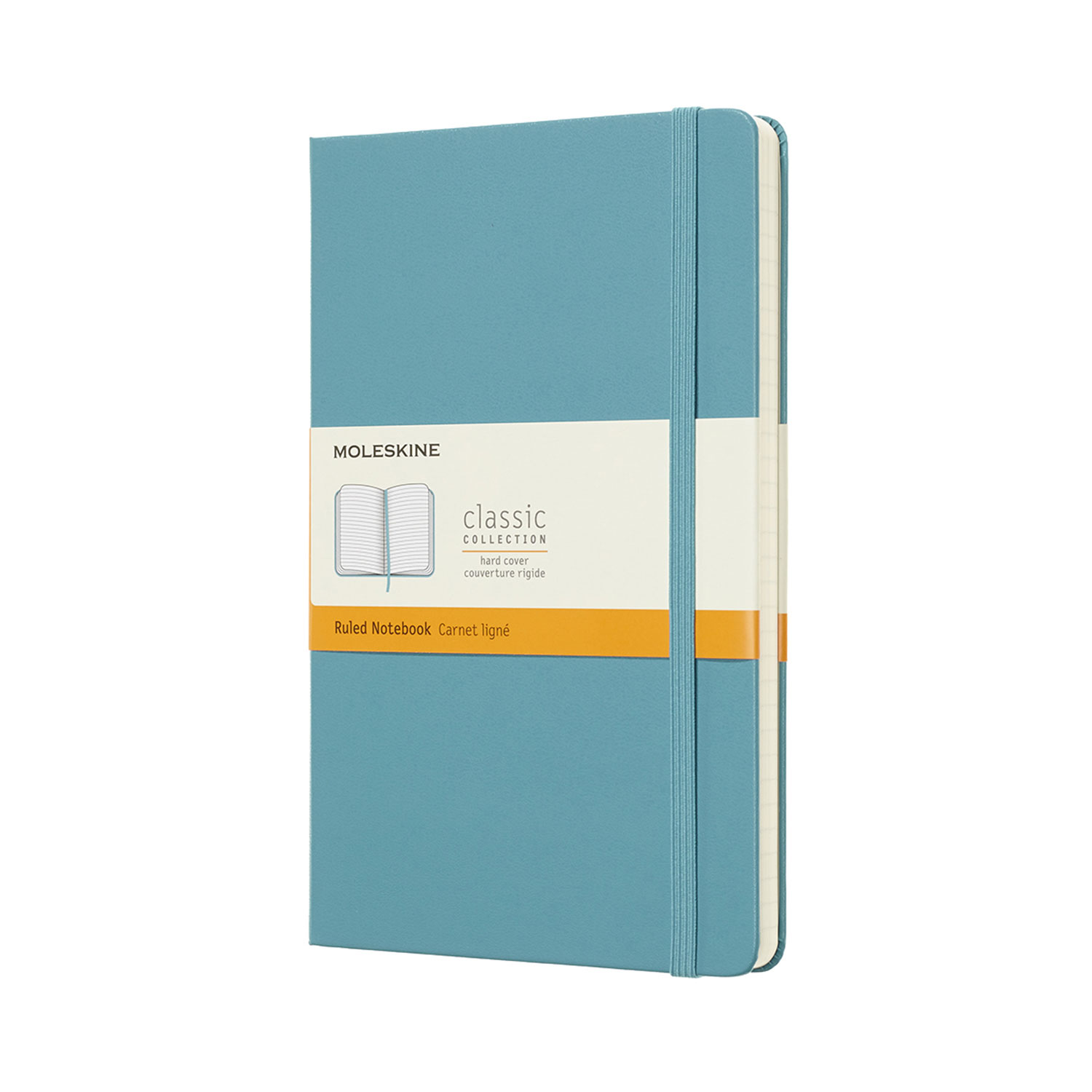 Branded Moleskine Notebooks - Classic Hardback Coloured