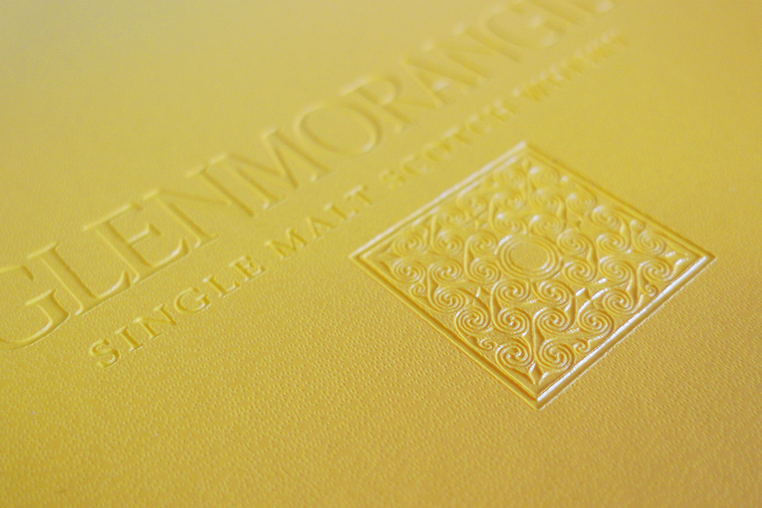 Example of the detail on an embossed Volant notebook