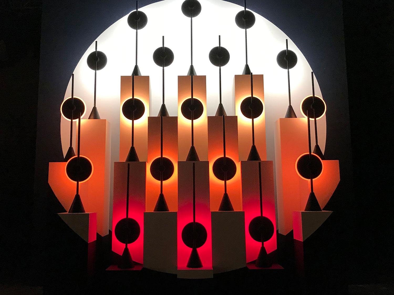 Lighting display at #CDW2019