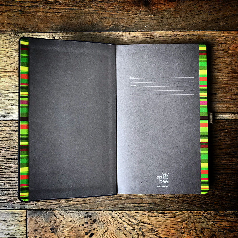 Attractive end-papers