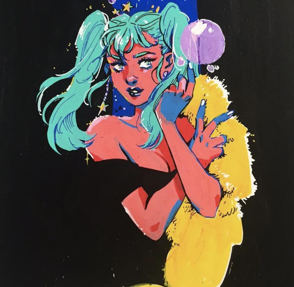 Image courtesy of artist's  Instagram
