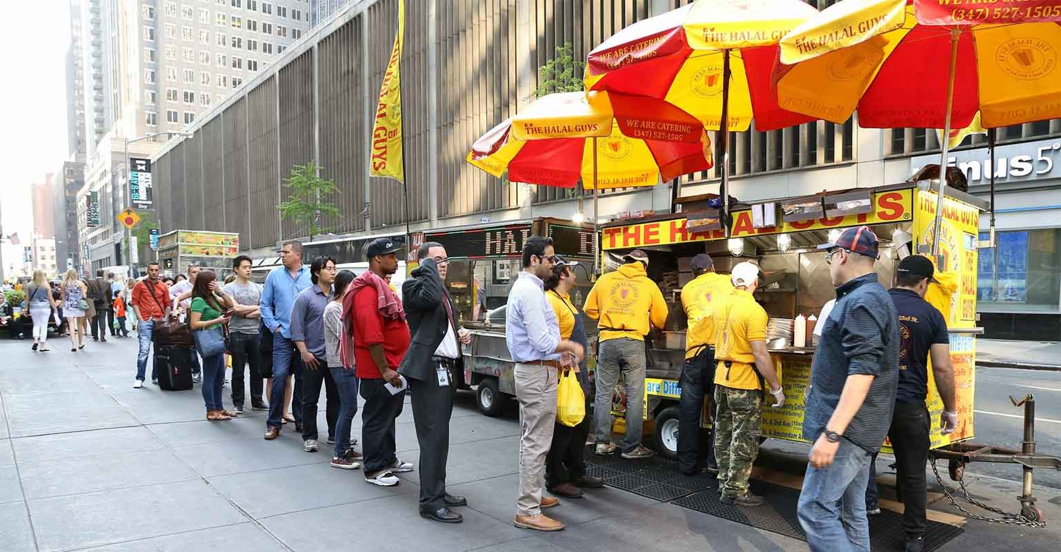 Image courtesy of  The Halal Guys' Instagram