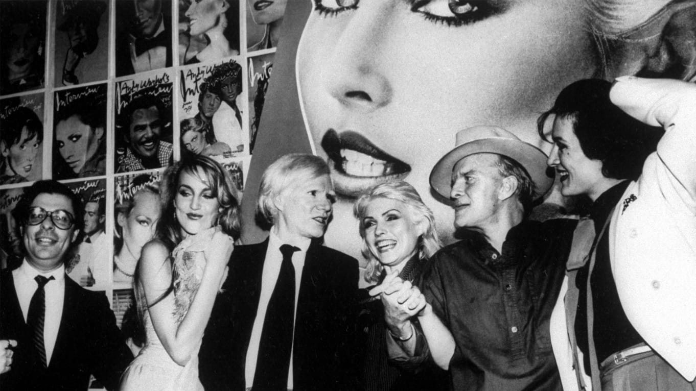 Warhol at Salon 54 opening. Image from Robin Platzer/Twin Images/The LIFE Images Collection/Getty