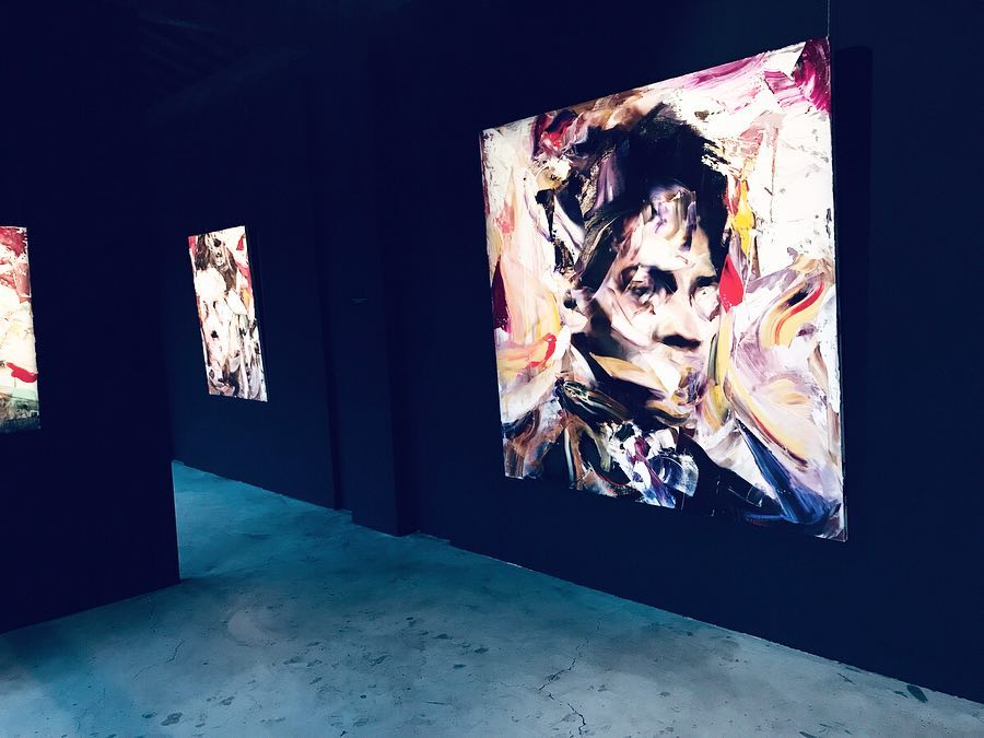 """""""End of Today"""" exhibition, image courtesy of the  artist studio."""