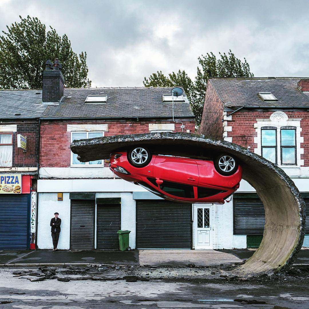 Image courtesy of  Alex Chinneck Studio.