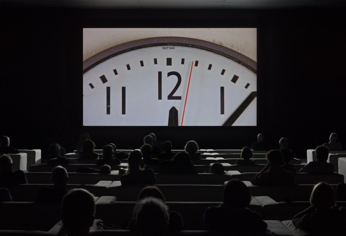 Christian Marclay: The Clock, image courtesy of  Tate Modern .