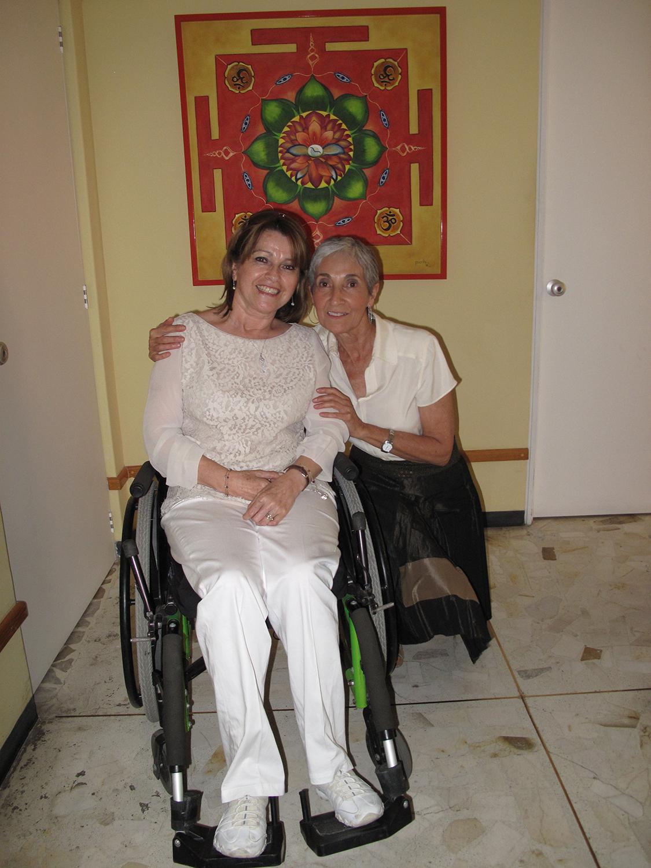 María Antonieta Osorio y Lourdes Sarvide